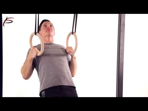 ProSource Wooden Gymnastic Rings