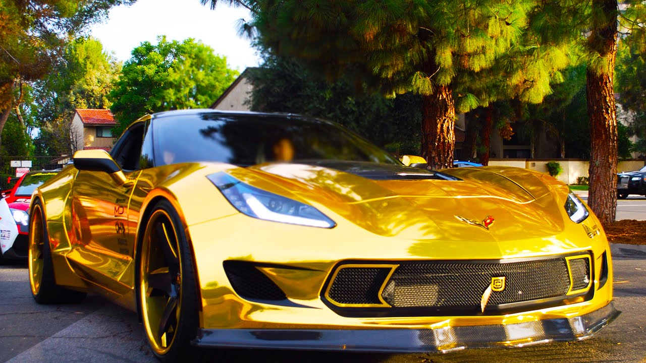 Image Gallery Golden Corvette 2016
