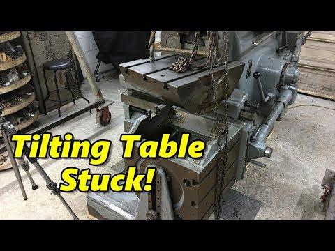 G&E Shaper Universal Table Repair Part 1