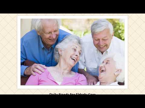 Daily Needs For Elderly Care