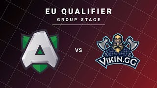 Alliance vs Vikin.gg Game 1 - DreamLeague S13 EU Qualifiers: Group Stage