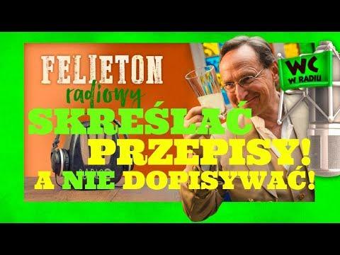 Cejrowski: SKREŚLAĆ PRZEPISY, NIE DOPISYWAĆ! Felieton Radiowy 2018/05/09