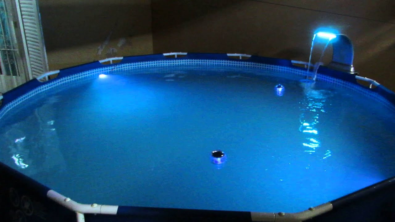 Minha piscina intex 6503l youtube for Piscine intex