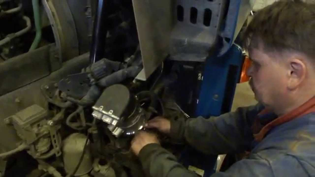 Установка топливного бака 250 литров на FOTON. 1 часть - YouTube