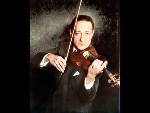 Jascha Heifetz -- Max Bruch -- Violinkonzert Nr. 1