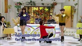 【TVPP】T-ara - Cry Cry, 티아라 - 크라이 크라이 @ World Changing Quiz Show