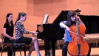 D. Popper - Concert Polonaise op.14 for cello and piano - Penka Petkova and Lili Bogdanova