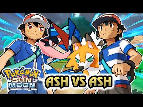 Pokemon Battle Challenge 13 | Alola Ash Vs Kalos Ash (Game Edited)