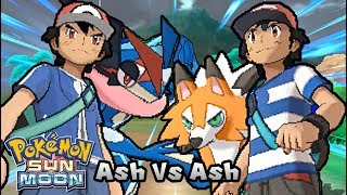 Pokemon Battle Challenge 13 | Alola Ash Vs Kalos Ash (Game Edited)