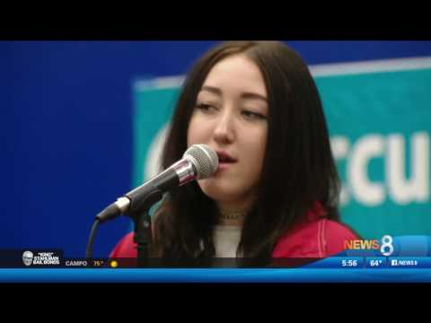 Noah Cyrus Performs at San Diego High School Thanks to SDCCU and Channel 933