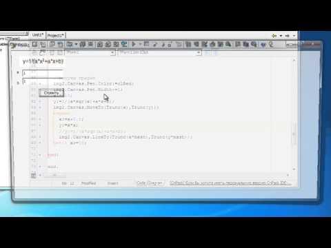 Построение графиков функции в Delphi часть 1