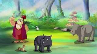 Уроки живой природы - Носорог (13 серия) (Уроки тетушки Совы)