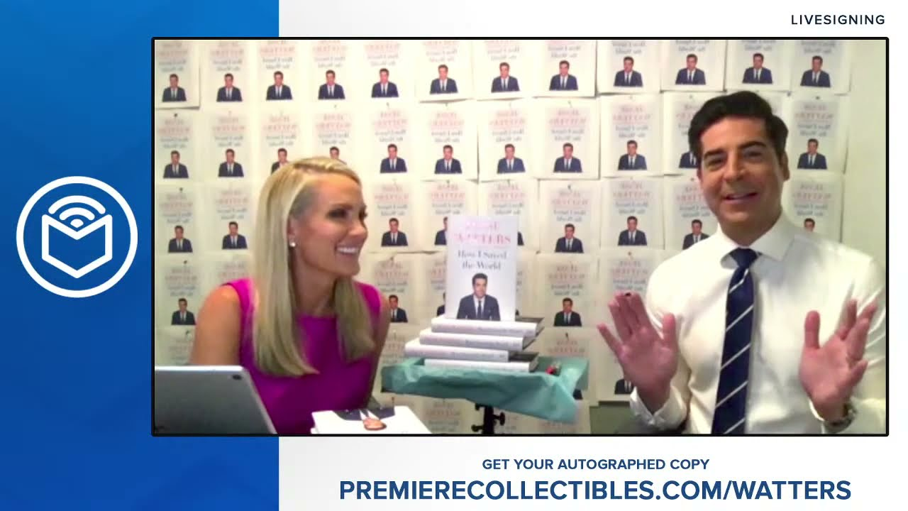 Download Jesse Watters Book Signing & Interview | How I Saved the World