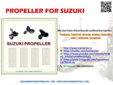 Outboard SUZUKI Propeller from ICE Marine Industrial Co., Ltd.