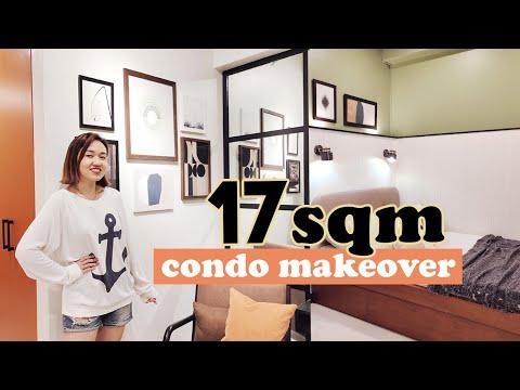Small Studio Unit Makeover // Extreme Condo Transformation // by Elle Uy