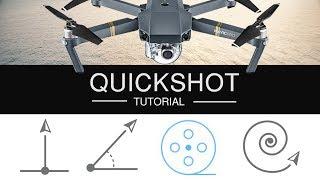 DJI MAVIC PRO QUICKSHOT TUTORIAL   HOW TO DRONIE   ROCKET   HELIX - Android Version