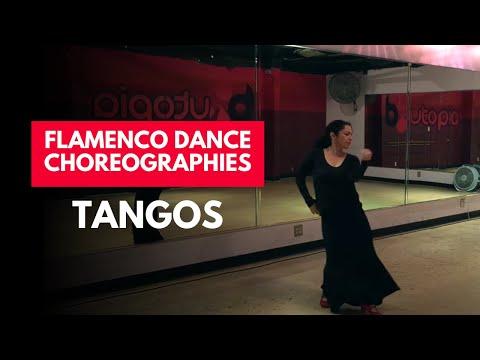 Tangos Choreography by Rina Orellana --Rosa Maria by Camaron de la Isla
