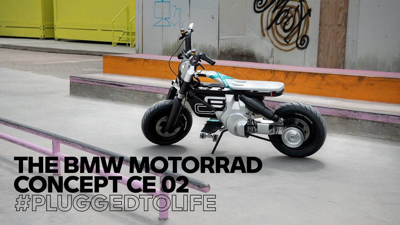 Boundless freedom for your city! The all-new BMW Motorrad Concept CE 02