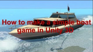 How to make Simple Boat Game in Unity 3D