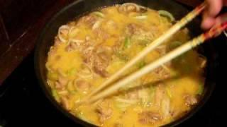 Oyakodon - Ma Cuisine Japonaise - Ajout Des Oeufs