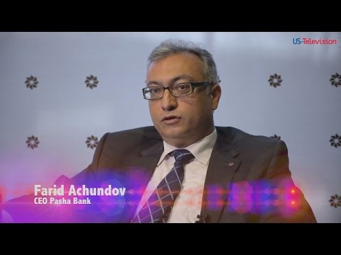 US Television - Azerbaijan - Interview with Farid Achundov - Pasha Bank