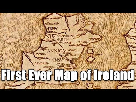 The First Map Of Ireland | What Is The Oldest Map Of Ireland?