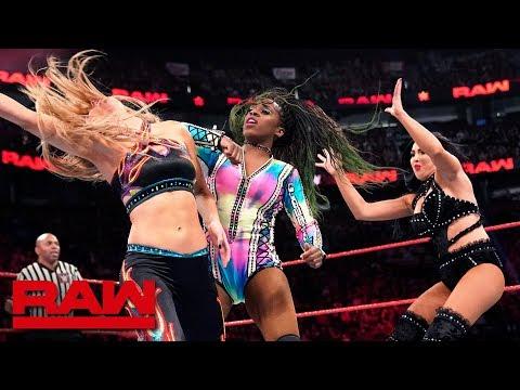 Bayley & Naomi vs. The IIconics: Raw, April 15, 2019