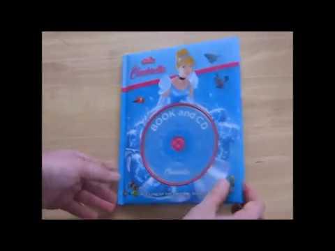 Disney Cinderella Book and CD