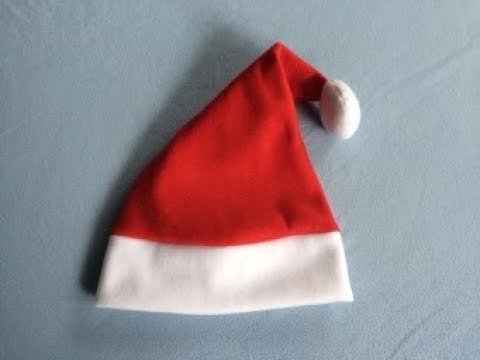 #DIY Santa Hat | tutorial