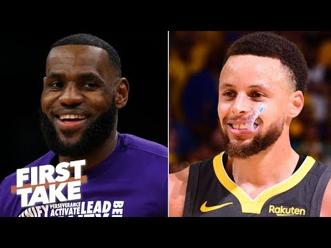 2020 MVP predictions: Stephen A. picks LeBron, Max Kellerman chooses Steph Curry | First Take