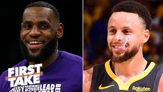 Download 2020 MVP predictions: Stephen A. picks LeBron, Max Kellerman chooses Steph Curry | First Take Mp3 and Videos