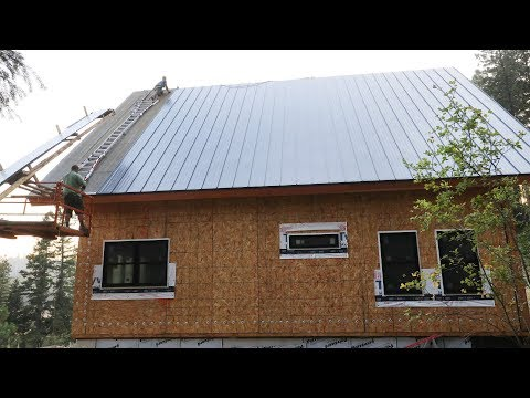 ONLY THREE PANELS LEFT?! (Metal Roofing Installation)