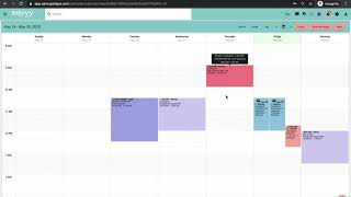 How to make recurring appointments