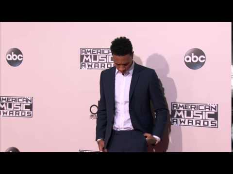 Tyga Red Carpet Fashion - American Music Awards 2015