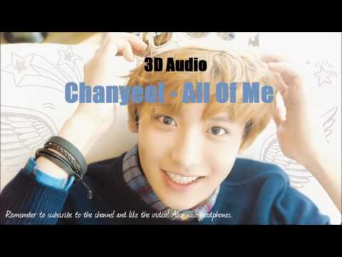Park Chanyeol - All Of Me「3D Audio」