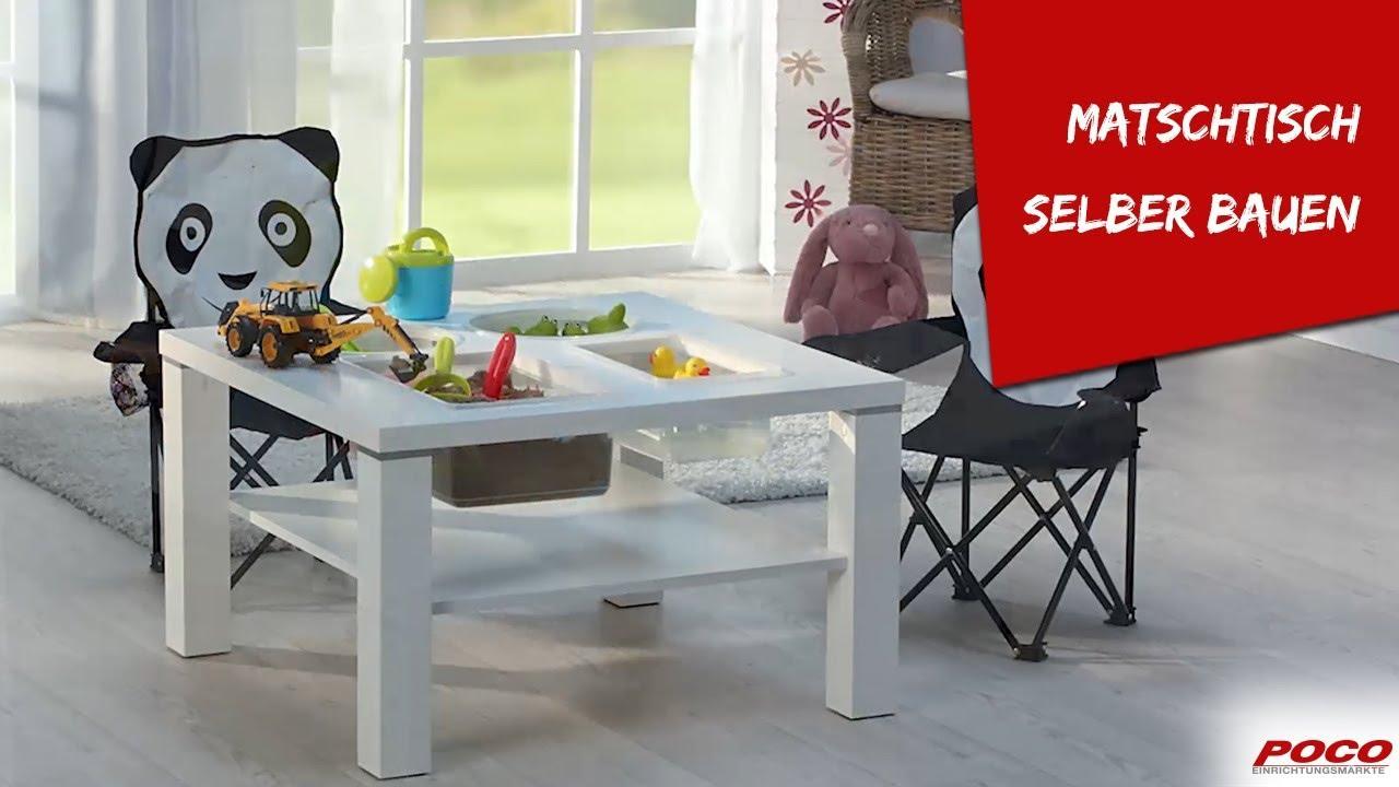 matschtisch selber bauen basteltipp von poco youtube. Black Bedroom Furniture Sets. Home Design Ideas