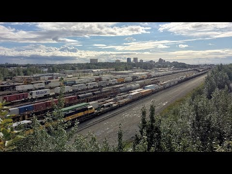 Anchorage, AK to Fairbanks, AK - Trainhopping The Alaska Railroad
