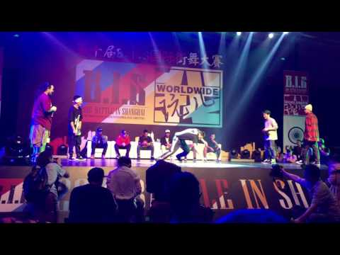 B.I.S World2016 Skechers World Wars- Icy Ives&Drummer Man vs issei 小魏 top4
