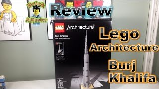 Playing with Lego #280 - Burj Khalifa - Lego Architecture (Review) - LEGO 21031