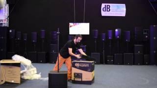 dBTechnologies ES 802/602 Unboxing