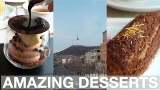Amazing Desserts in Seoul (Garosugil and Gyeongridangil)
