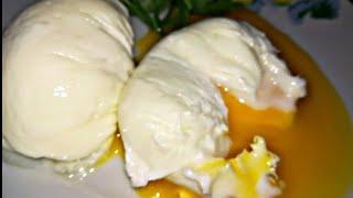 Яйцо пашот  за 3 минуты      poached eggs