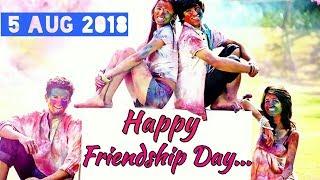 5 Aug 2018 - HAPPY FRIENDSHIP DAY 💕 New Friendship Day Whatsapp Status Video
