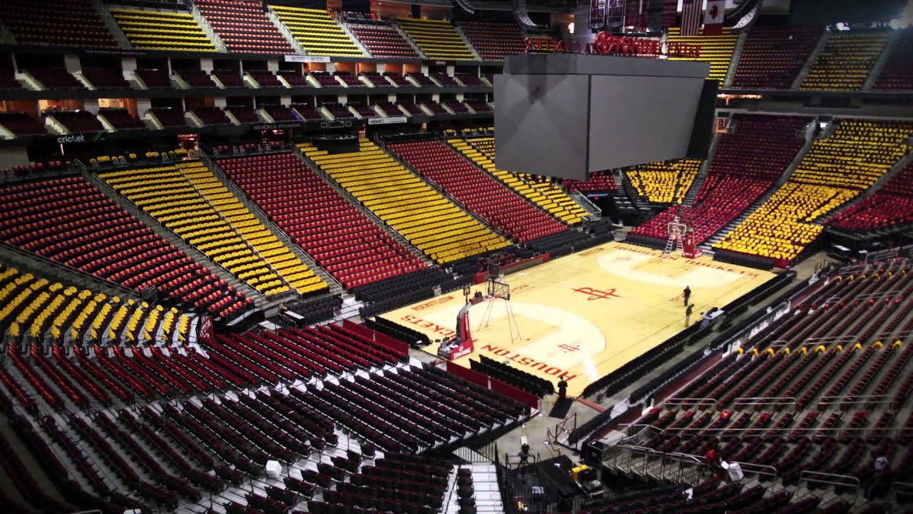Houston Rockets T Shirts Cover The Toyota Center ...