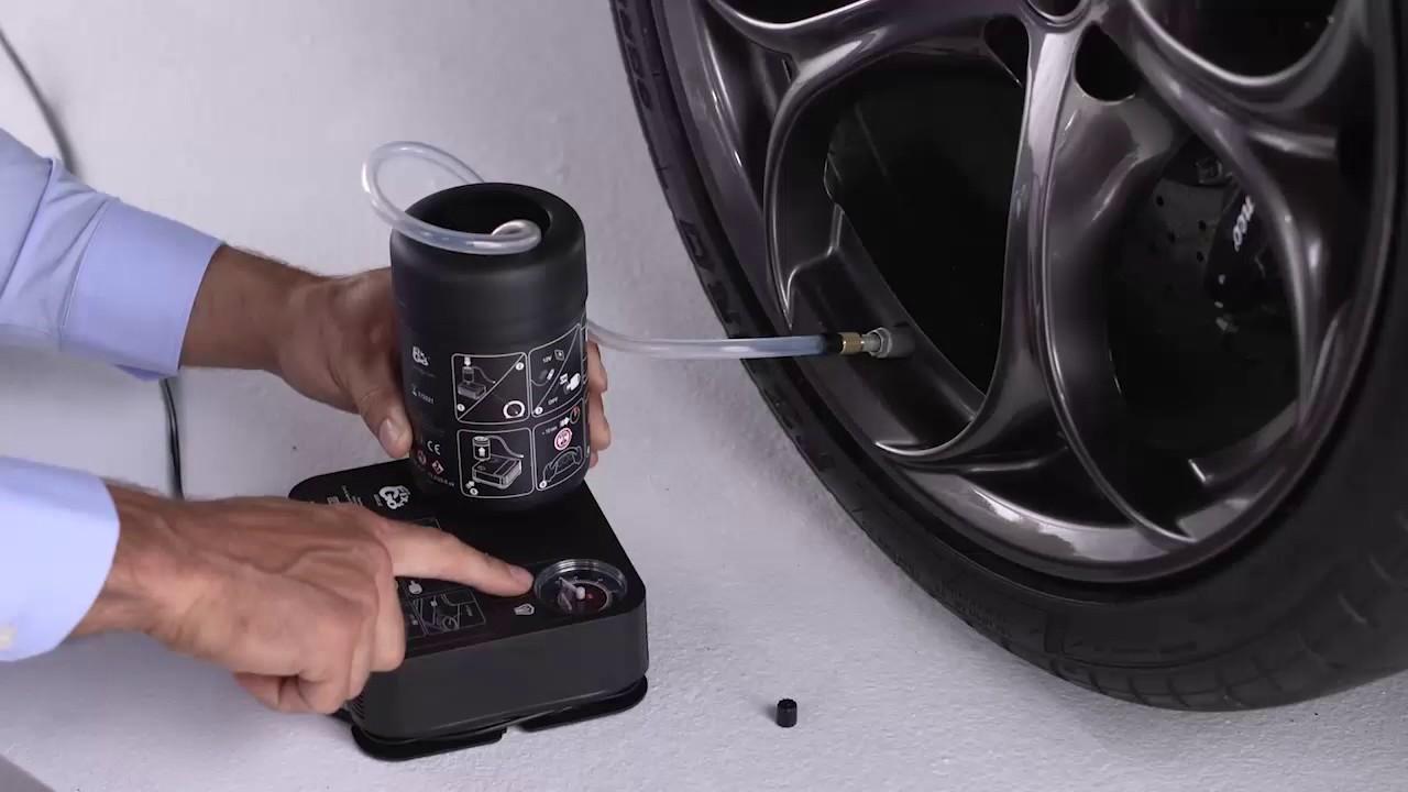 Tire Repair Kit >> Tire Repair Kit I 2017 Giulia I Alfa Romeo USA - YouTube