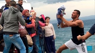 Desperate Journey: Europe's Refugee Crisis((November 17, 2015) More than 800000 asylum seekers and migrants have arrived in Europe by sea in 2015, with most traveling onward to northern and ..., 2015-11-16T23:39:55.000Z)