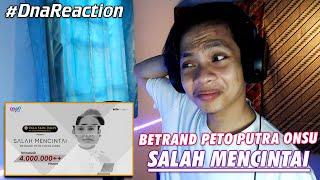 SEDIH BANGET INI LAGUNYA - BETRAND PETO PUTRA ONSU - SALAH MENCINTAI ( Official Music Video )