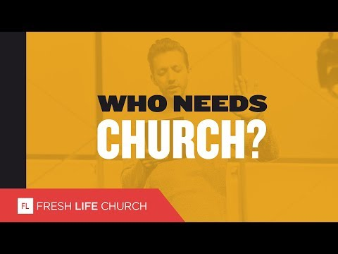 Who Needs Church? :: Pastor Levi Lusko