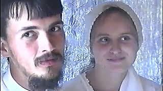 №2. Свадьба. Венчание Загуляева Александра и Можиной Галины. 15 июля 2001 год.