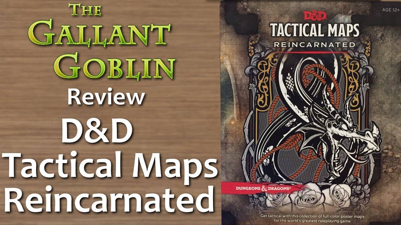D&D Tactical Maps Reincarnated - Wizards of the Coast